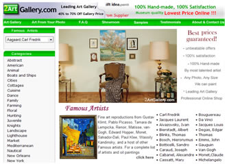Oil paintings, Reproductions of Famous artists, Fine art reproductions