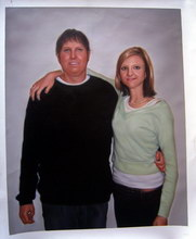 sample oil painting, Family portrait, sample portrait painting from photo - 51