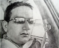 sample pencil sketch, pencil drawing - 99