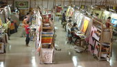 oil painting studio, oil painting supplier, oil painting factory 2